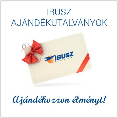 ajándék utalványok az IBUSZ-tól